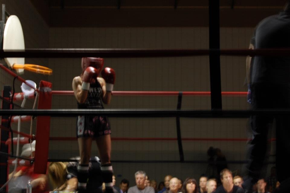 You can grieve, but you can't live there: what kickboxing taught me about writing