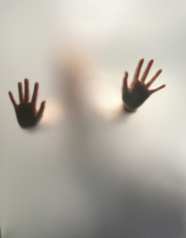 Ghostly hands istock