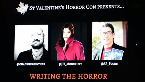 My very first horror con