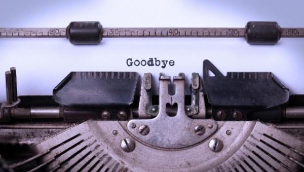 IWSG: A fond farewell