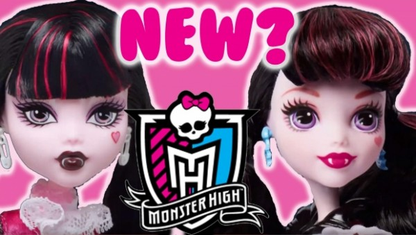 Draculaura: Then and Now