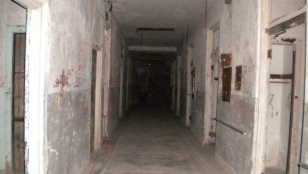 corridor at Waverly Hills by Chelsea Copeland