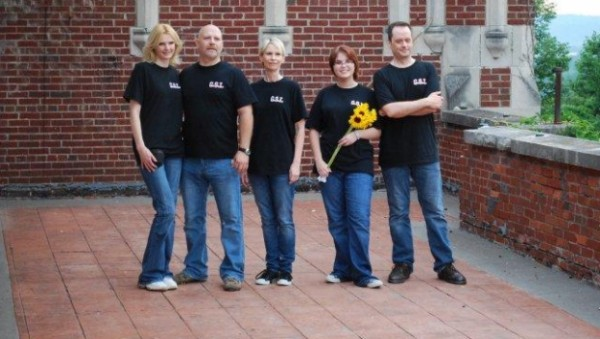 Ghost Scene Investigations at Waverly Hills. Chelsea is the one holding the sunflowers.