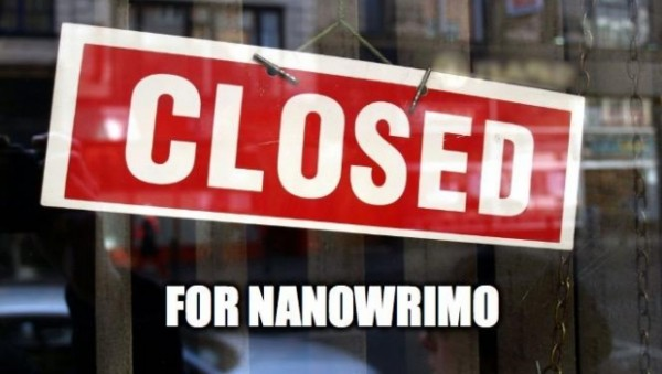 closed for NaNoWriMo