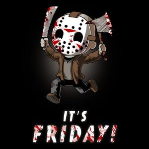 Friday the 13th T-shirt by TeeTurtle