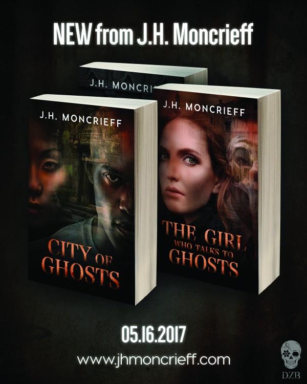 GhostWriters series by J.H. Moncrieff