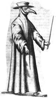 Mary King's Close plague doctor