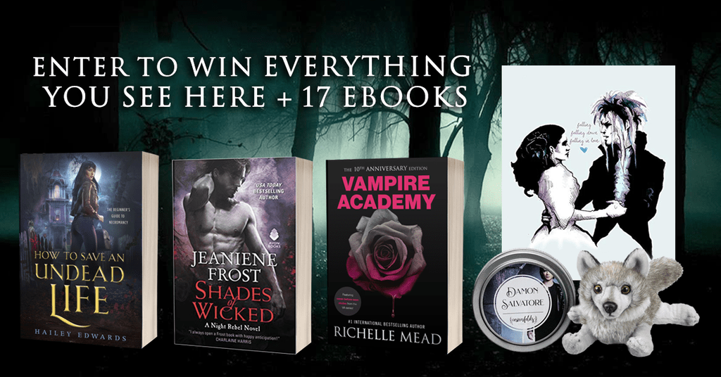Paranormal Romance giveaway