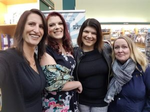 Girlfriends at launch of Those Who Came Before