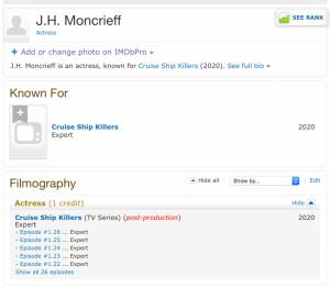 IMDb listing